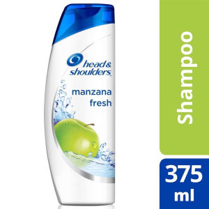 shampoo head and shoulders manzana fresh 375 ml