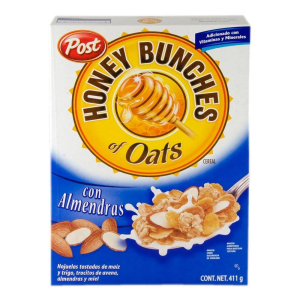 cereal post honey bunches of oats almendras 411 g