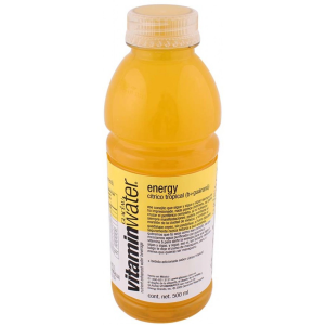 bebida glacéau vitamin water energy cítrico tropical 500 ml