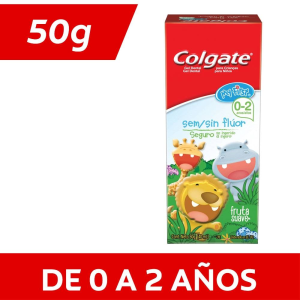 gel dental colgate my first sin flúor para niños fruta suave 50 g