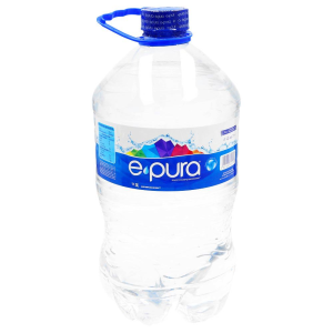 agua purificada epura natural 5 lt