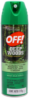 Deep Woods Repelente Aerosol 177 ml