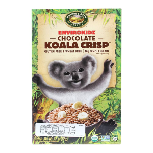 cereal nature's path arroz inflado choc